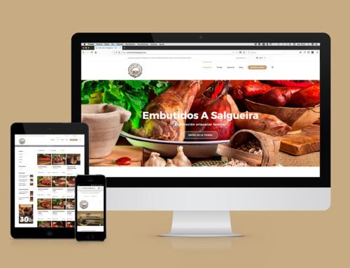 Nueva identidad y venta online – Embutidos A Salgueira