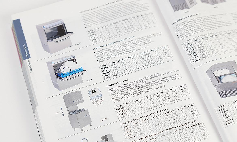 Catálogo de hoalve equipamientos para hostelería