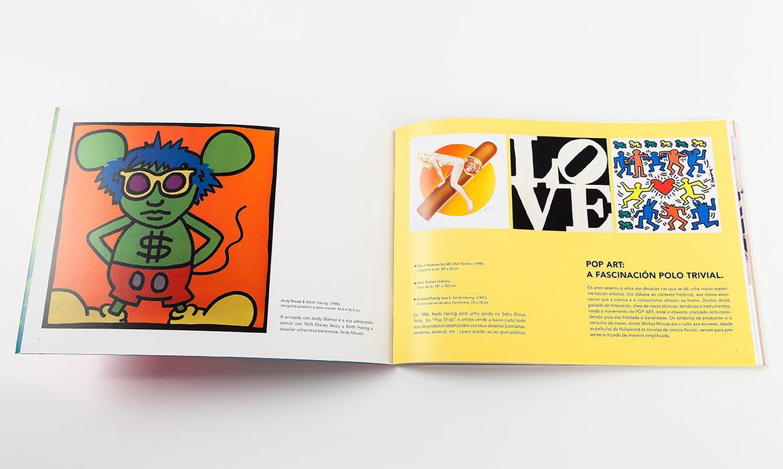 pop art catálogo