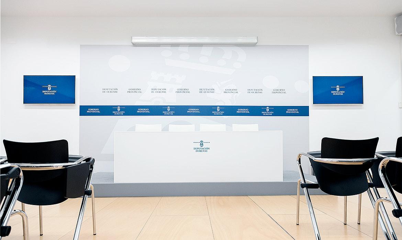 Deputación sala de prensa