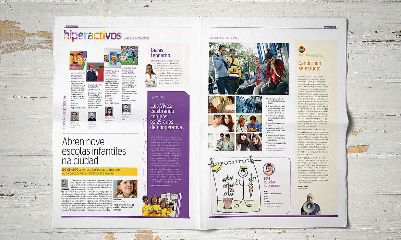 Xornal Escolar interior