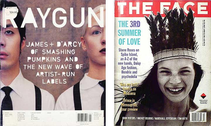 portadas de revistas de los 90