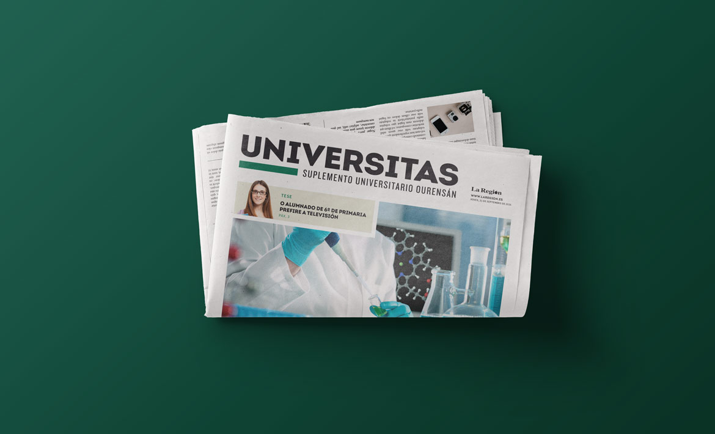 Universitas suplemento universitario portada nacher